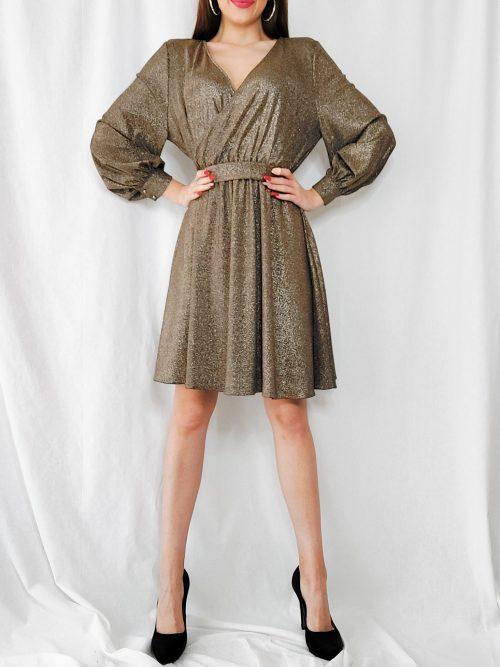 Krátke elegantné šaty