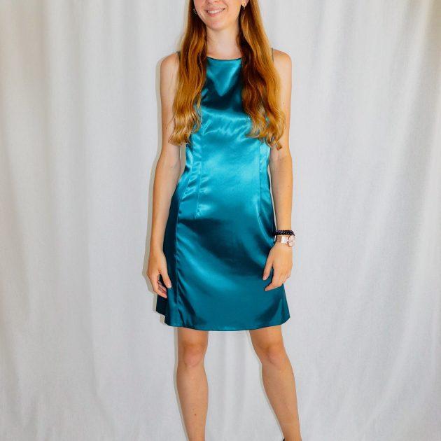 Krátke šaty SMARAGDOVÉ