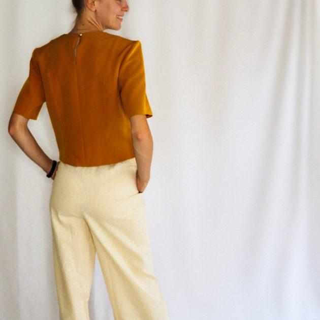 Ľanové nohavice 2