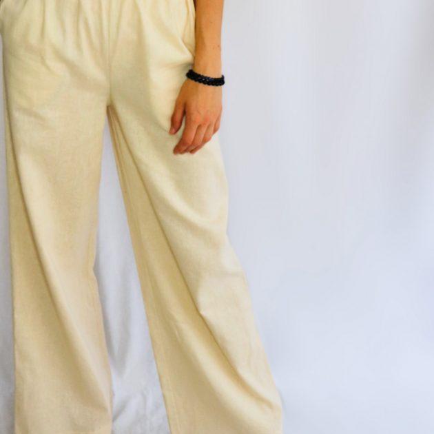 Ľanové nohavice 3