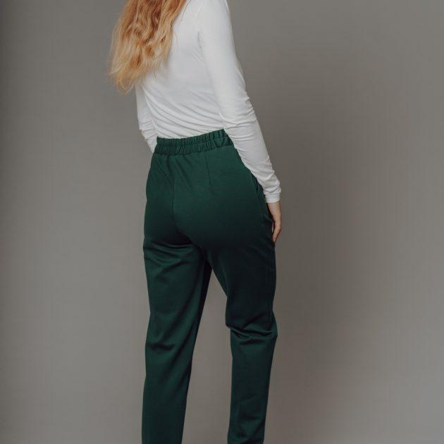 Dlhé nohavice, smaragd.