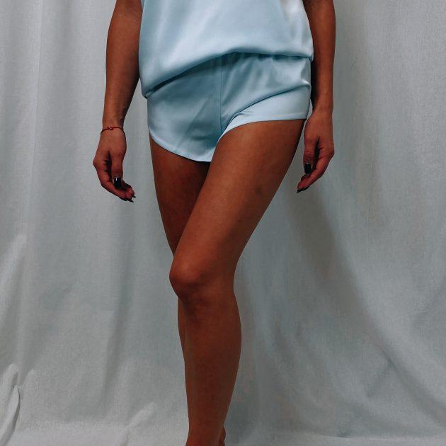 Pyžamové šortky SLEEPY, Modré